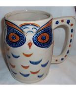 Vintage Owl Coffee Mug JSC Shafford Japan Handcrafted  15 oz - $16.99