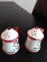 Vintage Stein Shape Rooster Salt & Pepper Made in Japan image 2