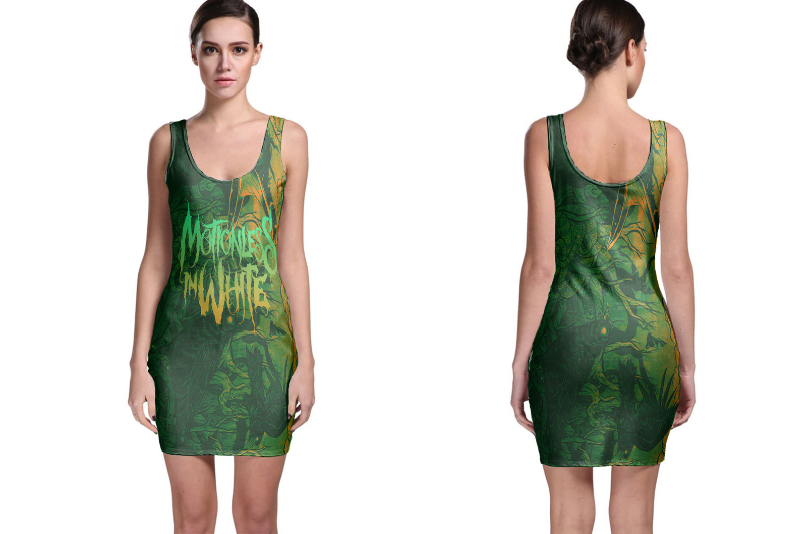 Motionless in White Bodycon Dress