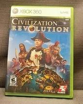Sid Meier's Civilization Revolution (Microsoft Xbox 360, 2008) Video Game - $10.84