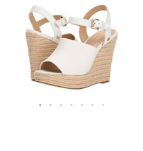 MICHAEL Kors Penelope Wedge Sandals Women's Platform Shoes Casual sz 10 - $84.55