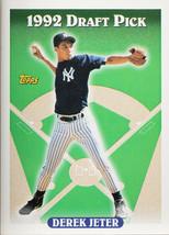 1992 DRAFT PICK TOPPS DEREK JETER #98 ROOKIE CARD RC  (MR) - $296.99