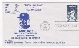BABE RUTH #2046 CHICAGO, IL JULY 6, 1983 GABRIEL ELECTRONICS CACHET D-509 - $2.98