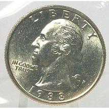 1988-P Washington Quarter In the Cello MS65 FREE SHIPPING #697 - $11.99
