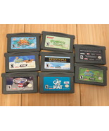 Nintendo Gameboy Advance GBA lot of 9 games- Lego, Tak, Dinotopia, Spong... - $27.90