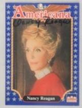 Nancy Reagan (d. 2016) Autographed Starline Americana Trading Card - $29.99