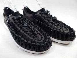 Keen Uneek O2 Sport Sandals Men's Size 9 M (D) EU 42 Raven (Black) / White
