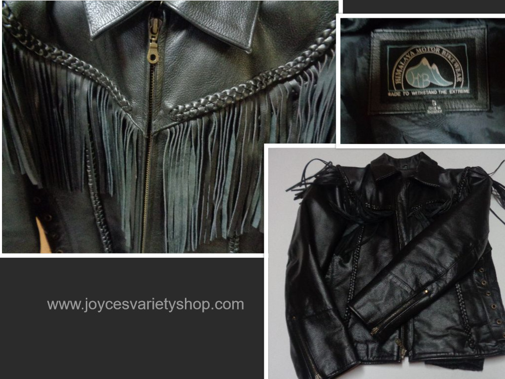 Himalaya motor cycle jacket collage
