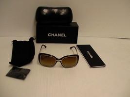 Auténtico CHANEL Gafas de Sol 6044T C 714 Mujer Polarizado Titanio Havan... - $272.80