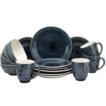 Elama Petra 16 Piece Stoneware Dinnerware Set - $129.24