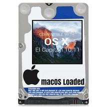 macOS Mac OS X 10.11 El Capitan Preloaded on Sata HDD - $12.99+