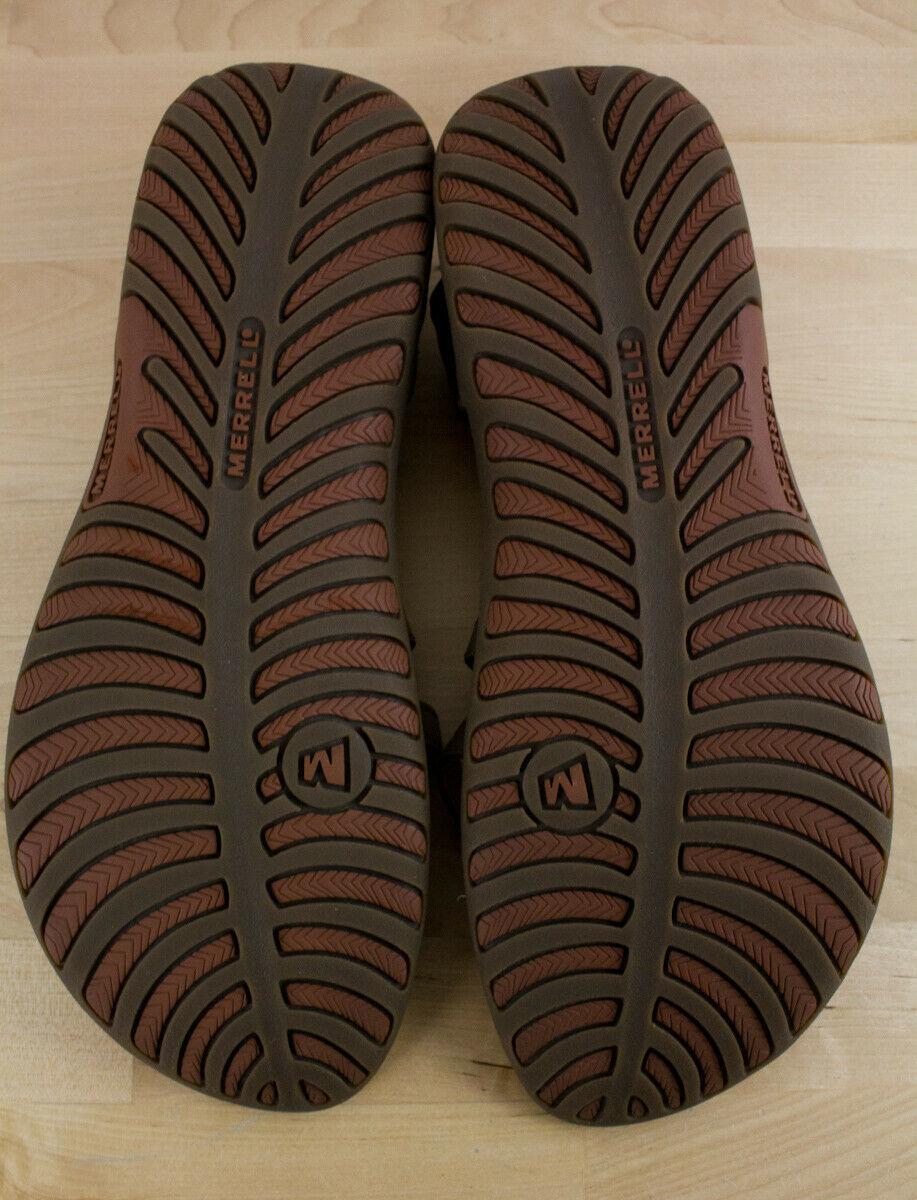 Merrell Jacardia Dark Earth Slingback Flats Sport Sandals Women's Size 10