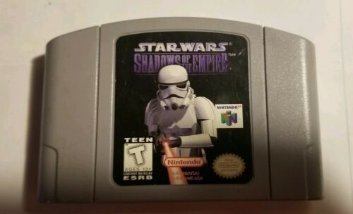 Star Wars: Shadows of the Empire (Nintendo 64, 1996) Cartridge Only n64