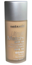 Wet n Wild Ultimate Match Liquid Foundation  *Choose your Shade*Twin Pack* - $12.95
