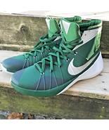 Nike Men's Shoes Hyperdunk Basketball 2015 812944 302 Green Sz 16.5 - $63.04