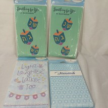 Lot of Four  6 In Pk American Greetings Hanukkah Money Gift Card Holder ... - $15.88