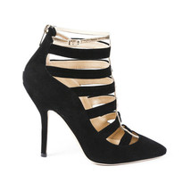 Jimmy Choo Pointed Cage Pumps SZ 37 - $135.00