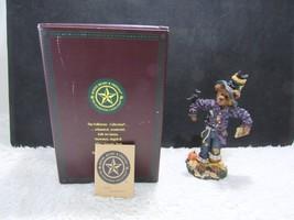 2000 Boyd's Resin Edgar w/ Allan & Poe Scareaway Strawboss Collectible F... - $14.95