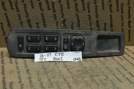 2003 2007 Cadillac CTS Master Switch OEM 25748574 Door Window Lock bx2 048 9F2 - $12.99