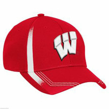 WISCONSIN - Adidas College Sideline Player Cap - Men's STRETCH FITTED L/XL - $21.86
