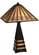 "Meyda Tiffany 131510 Ra Lighted Base Table Lamp, 24"" Height - $394.20"