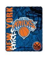 "NBA New York Knicks 50"" by 60"" Rolled Fleece Blanket Hard Knocks Design - $21.75"