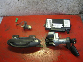 05 04 03 02 01 00 saab 9-5 TWICE module 5042239 & ignition switch key an... - $257.39