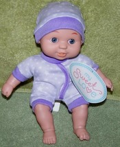 My Sweet Love Mini Baby Doll in Purple with White Stars Outfit NWT - $6.50