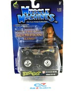 Muscle Machines THE SCORPION KING Bear Foot Dodge MO64-03-02, 1:64 Scale... - $18.76