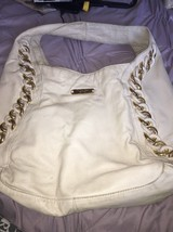 Michael Kors Gold Chain Leather Purse - $146.52