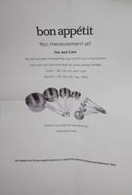 Bon Appetite 9 Piece Measurement Set - $23.74