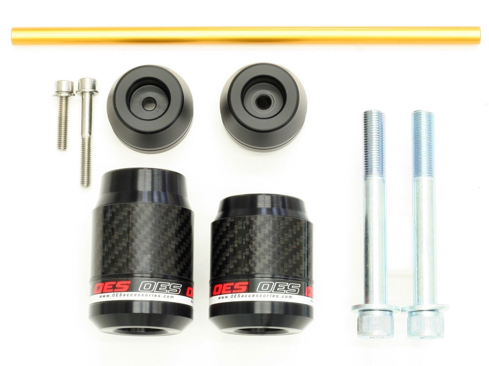 OES Carbon Frame Sliders and Fork Sliders 2019 Honda CB1000R No Cut Made In USA