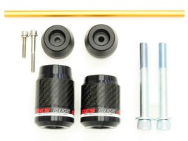 OES Carbon Frame Sliders and Fork Sliders 2019 Honda CB1000R No Cut Made In USA image 1