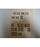 Lot of 16 Vintage Nyassa Postage Stamps 1911-1921 - On Page - Make an Offer - $26.95