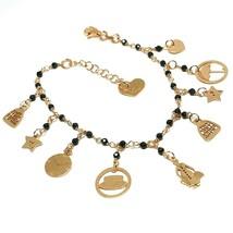 Armband und Anhänger Silber 925, Mary Tasche Regenschirm Hut Sterne, Le ... - $123.66