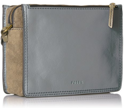Fossil Campbell Crossbody Steel Blue - $200.00