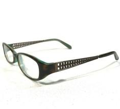 Kate Spade Glasses Eyeglasses Frames Brown Tortoise Oval Rectangle Georgette Jey - $32.71
