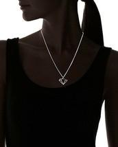 """Nuovo USA Fatto ECRU metal Color Oro Diamante Ritaglio 16 """" Collana image 2"""