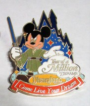 DISNEYLAND ~  Jedi Year of a Million Dreams Pin & Travel Co., Inc LANYAR... - $29.86