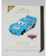 2007 Hallmark Ornament Blue Lightning Disney Cars - $14.75