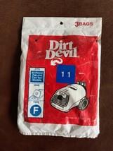 Genuine Dirt Devil Vacuum Bags Type F,  3 bags - $8.91