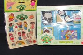 CABBAGE PATCH KIDS SCHOOL PAK & PUFFY STICK ONS (c) - $4.00