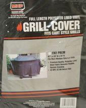 MHP CV2PREM Full Length Polyester Lined Vinyl Grill Cover Color Black image 5