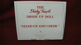 """NEW Vintage Shirley Temple Dress Up Doll """"StandUp & Cheer"""" Clothing Danb... - $29.69"""