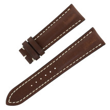 Breitling 443X 24-20mm Genuine Leather Brown Unisex Watch Band - $449.00