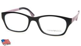 New Emporio Armani Ea 3017 5130 Purple Eyeglasses Frame 50-17-145 B35mm Italy - $82.81