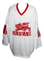 Custom name   team denmark hockey jersey white   1 thumb200