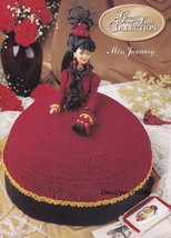 Miss January, Annies Gems of the South Crochet Doll Clothes Pattern Book... - $3.95