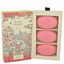 True Rose Luxury Soap by Woods of Windsor.Three 2.1 oz Luxury Soaps. - $13.63