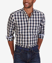 Nautica Men's Cool Breeze Plaid Long-Sleeve Dress Shirt - XL - $24.95